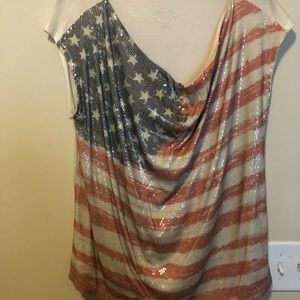 Inc patriotic top